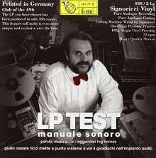 Giulio Cesare Ricci: Lp Test-Manuale Sonoro, 2 LPs