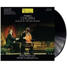 Frederic Chopin (1810-1849): Sonate für Cello & Klavier op.65 (180g), LP