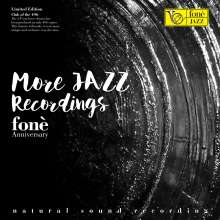 Foné 35th Anniversary - More Jazz Recordings (Natural Sound Recording) (180g) (Limited Edition), LP