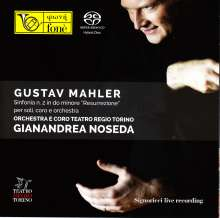 Gustav Mahler (1860-1911): Symphonie Nr.2, Super Audio CD