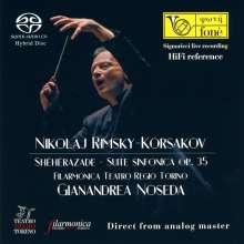 Nikolai Rimsky-Korssakoff (1844-1908): Scheherazade op.35, SACD