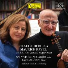 Claude Debussy (1862-1918): Sonate für Violine & Klavier, Super Audio CD