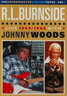R.L. Burnside (Robert Lee Burnside): Live 1984/1986 With Johnny Woods, DVD