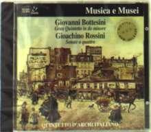 Giovanni Bottesini (1821-1889): Streichquintett c-moll op.99, CD