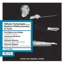 Wilhelm Furtwängler & die Berliner Philharmoniker in Turin, 2 CDs