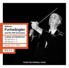 Ludwig van Beethoven (1770-1827): Symphonien Nr.5 & 6, 2 CDs