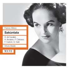 Franco Alfano (1875-1954): Sakuntala, 2 CDs