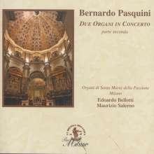 Bernardo Pasquini (1637-1710): Orgelwerke für 2 Orgeln, CD
