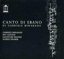 Gabriele Mirabassi (geb. 1967): Canto Di Ebano, CD