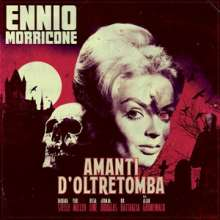 Ennio Morricone (1928-2020): Filmmusik: Amanti D'oltretomba (180g) (Bloody Red Marbled Vinyl), LP