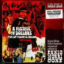 "Ennio Morricone (1928-2020): Filmmusik: A Fistful Of Dollars (180g) (Limited Edition) (Clear Vinyl), Single 10"""