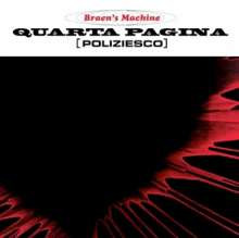 The Braen's Machine: Quarta Pagina (Poliziesco) (Deluxe Edition), CD