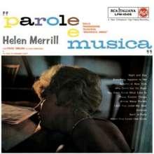 Helen Merrill (geb. 1930): Parole E Musica (180g), 1 LP und 1 CD