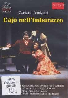 Gaetano Donizetti (1797-1848): L'Ajo nell'Imbarazzo, DVD