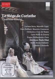 Gioacchino Rossini (1792-1868): Le Siege De Corinthe, DVD