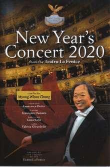 Neujahrskonzert 2020 (Teatro la Fenice) mit Myung-Whun Chung, DVD