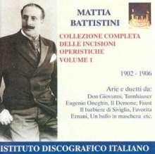 Mattia Battistini - Complete Edition Vol.1, CD