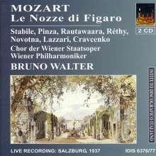 Wolfgang Amadeus Mozart (1756-1791): Die Hochzeit des Figaro, 2 CDs