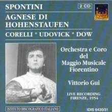 Gasparo Spontini (1774-1851): Agnese di Hohenstaufen, 2 CDs