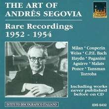 Andres Segovia - The Art of Vol.1, CD