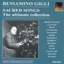 Benjamino Gigli - Sacred Songs, CD