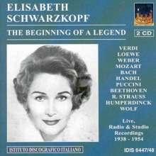 Elisabeth Schwarzkopf - The Beginning of a Legend, 2 CDs