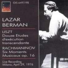 Lazar Berman - Mailand, 29.April 1976, 2 CDs