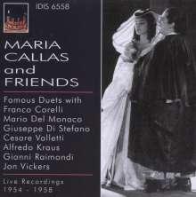Maria Callas and Friends, CD