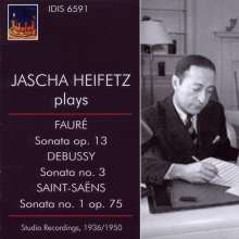 Jascha Heifetz plays French Music Vol.1, CD