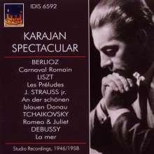 Karajan Spectacular, CD