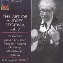 Andres Segovia - The Art of Vol.7, CD