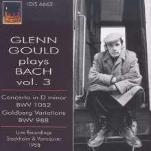 Glenn Gould plays Bach Vol.3, CD