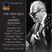Andres Segovia - The Very Best of Andres Segovia, 2 CDs