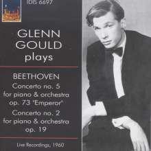 Ludwig van Beethoven (1770-1827): Klavierkonzerte Nr.2 & 5, CD