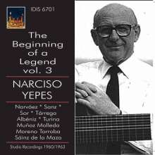Narciso Turina / Ypes: Benning Of A Legend 3, CD