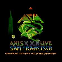 Asia: Axis XXX Live In San Francisco 2012 (2 CD + DVD), 2 CDs