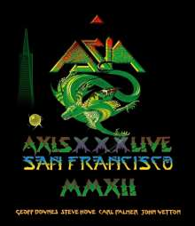 Asia: Axis XXX Live In San Francisco 2012, Blu-ray Disc