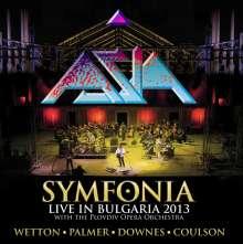 Asia: Symfonia: Live In Bulgaria 2013, DVD