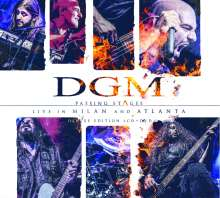 DGM: Passing Stages: Live In Milan And Atlanta (Deluxe-Edition), 2 CDs und 1 DVD