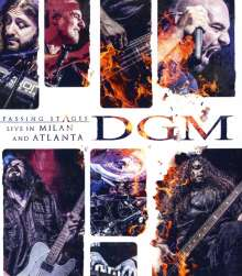 DGM: Passing Stages: Live In Milan And Atlanta, Blu-ray Disc