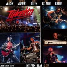 Tyketto: Live From Milan 2017 (Deluxe-Edition), 1 CD und 1 DVD