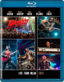 Tyketto: Live From Milan 2017, Blu-ray Disc
