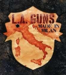 L.A. Guns: Made In Milan, Blu-ray Disc