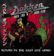 Dokken: Return To The East Live 2016 (Limited-Edition), 2 LPs