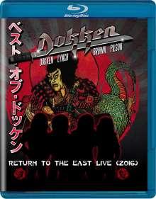 Dokken: Return To The East Live 2016, Blu-ray Disc