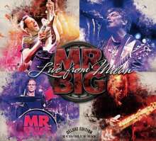 Mr. Big: Live From Milan (Deluxe Edition), 2 CDs und 1 Blu-ray Disc