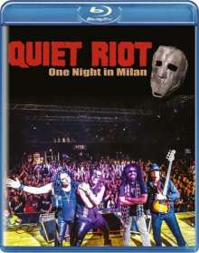 Quiet Riot: One Night In Milan, Blu-ray Disc