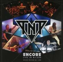 TNT (Heavy Metal): Encore: Live In Milano, 1 CD und 1 DVD