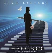 Alan Parsons: The Secret (Limited-Edition-Box-Set) (+ T-Shirt Size L), 1 LP, 3 CDs und 1 DVD-Audio