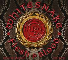 Whitesnake: Flesh & Blood (Special-Edition), 1 CD und 1 DVD
